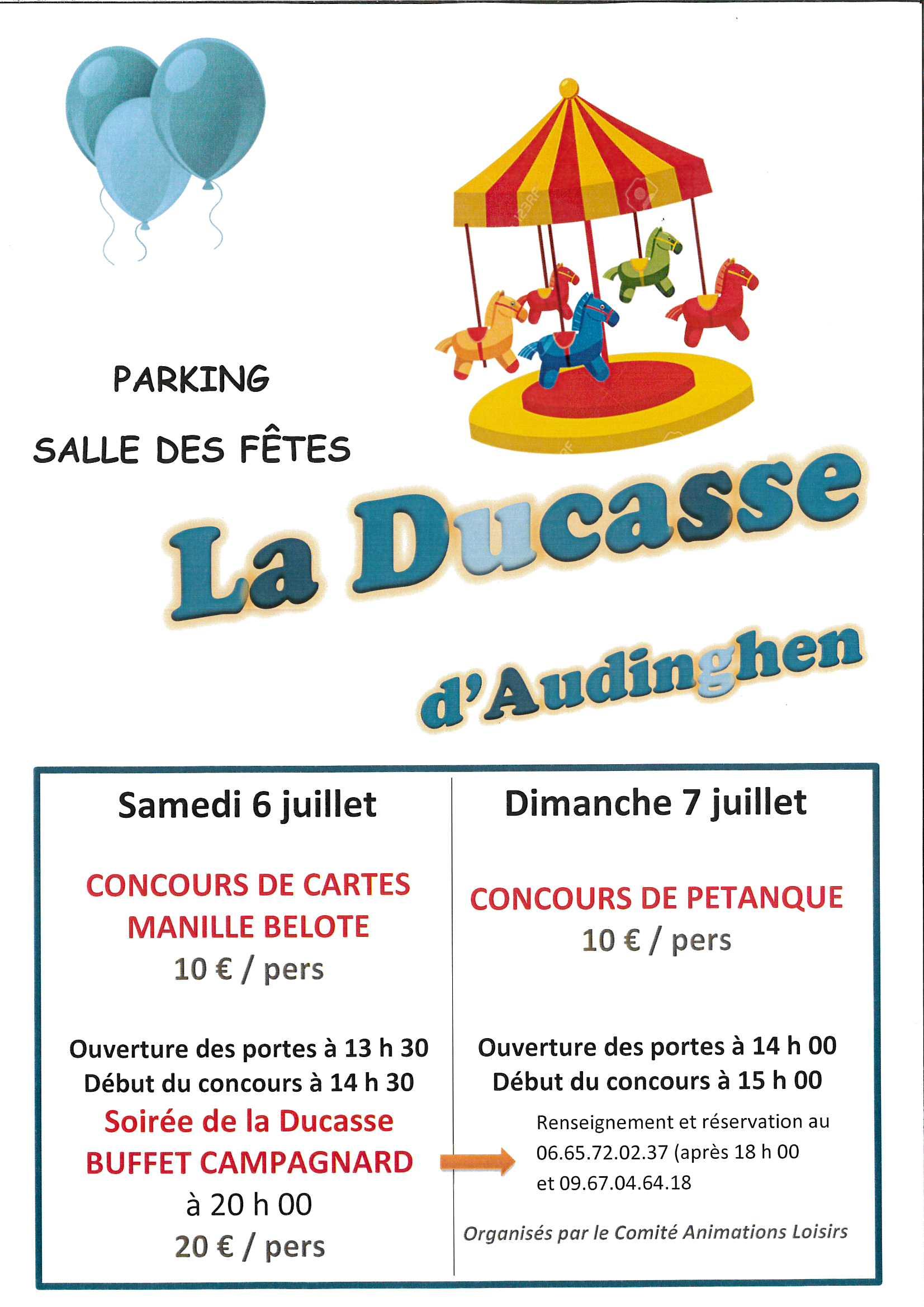 WEEK-END DE LA DUCASSE @ SALLE DES FÊTES