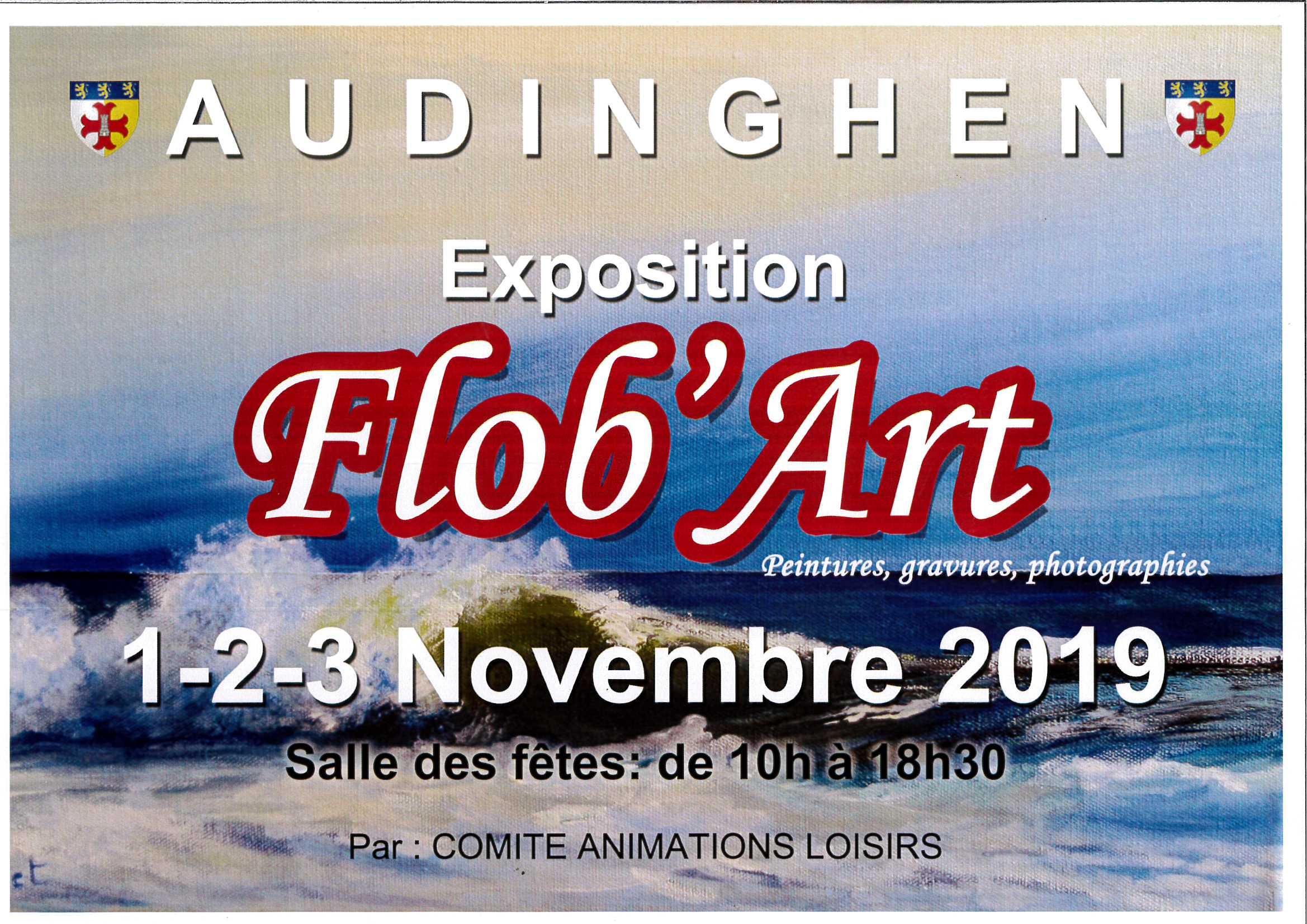 EXPOSITION Flob'Art @ salle des fêtes AUDINGHEN