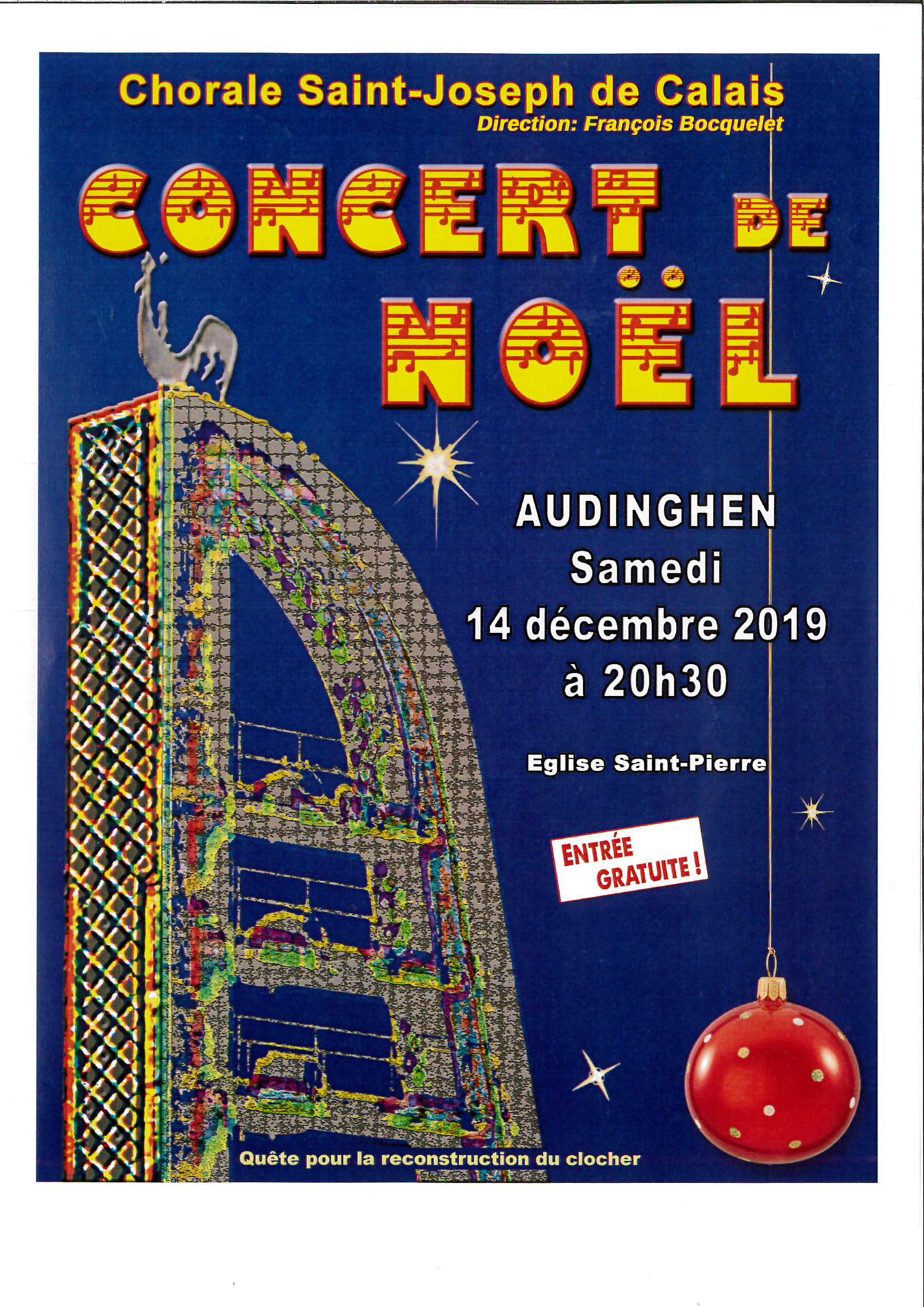 Concert de Noël @ Eglise Saint-Pierre